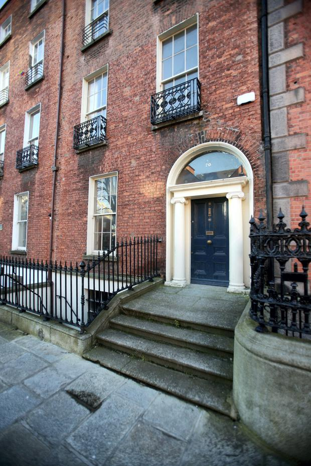20 Herbert Street, Dublin 2, sold in January 2013 for €675,000 and sold again in August 2014 for €700,000, an increase of 3.7pc.
