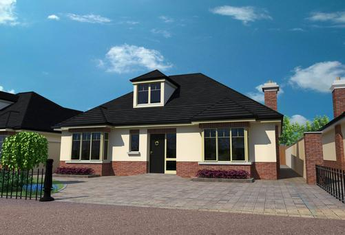 Fifteen family homes are being built in Esmonde Avenue, Clane