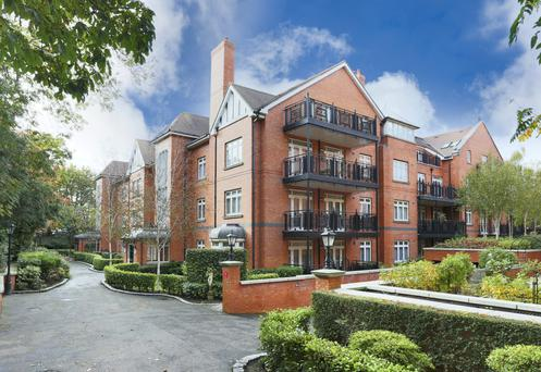 Luxury apartments at Merrion Road, Ballsbridge
