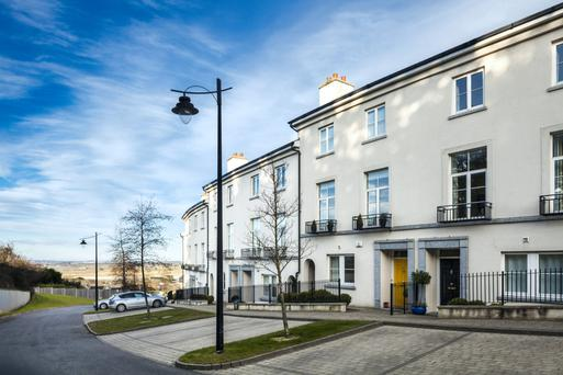 There are ten homes, in two styles, on offer at Robswall in Malahide