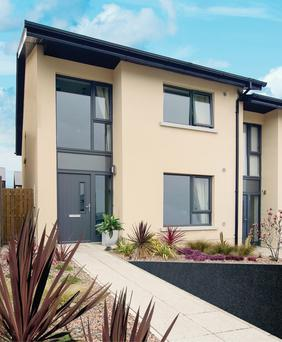The 15 new three-bed houses in Skerries will be completed by the summer