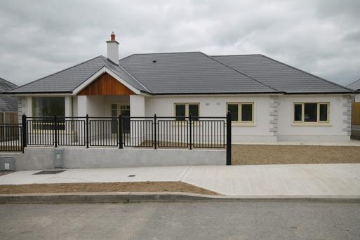 Five of the 14 bungalows remain at Fairgreen