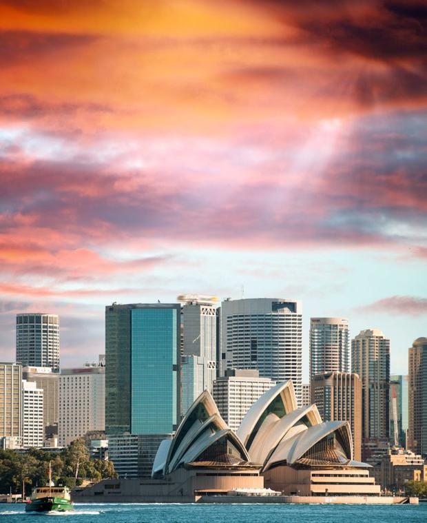 Sydney properties now average close to €640,000