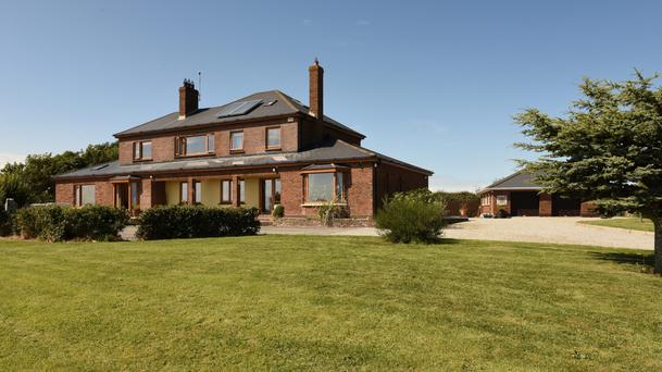Sea View House is a detached home on an acre of grounds on a quiet part of the Louth coast