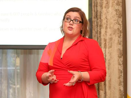 STRUGGLE: Niamh Randall has warned of massive crisis