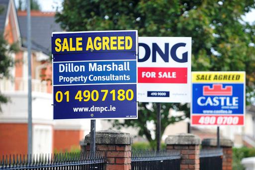 The Irish Independent Real Estate Alliance price survey, published today, shows significant falls in Dublin property prices over the last year. But in the rest of the country the opposite has happened. Photo: Bloomberg