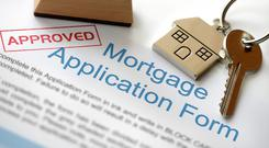 It can be a challenge to secure a mortgage and find a house. Stock image