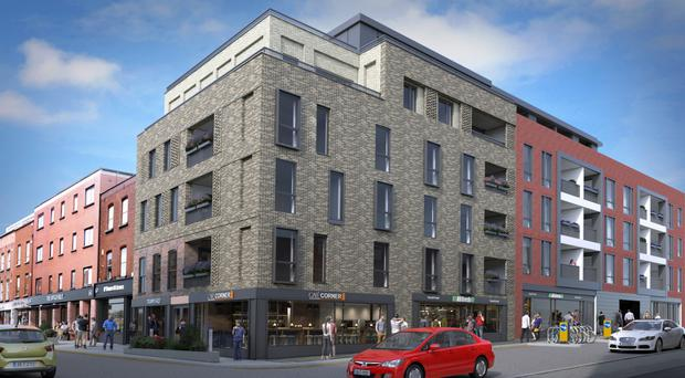 The gentrification of the Liberties, one of the Dublin's oldest quarters, continues apace with the development of the Tramyard Exchange, a new block of apartments at Carman's Hall.