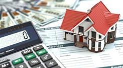 Outside of Dublin, residential property prices were 13.3pc higher in the year to December Stock image