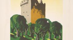 Setting the scene: A 1953 poster of Blarney Castle