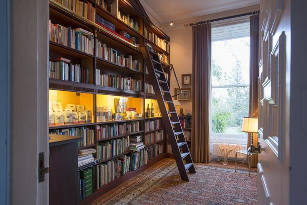 The library with step ladder