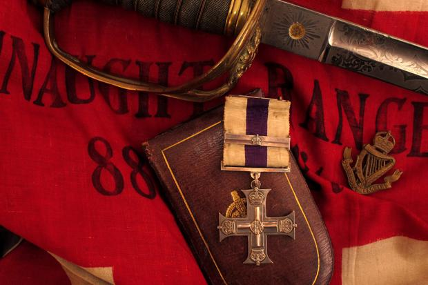 For valour: A Connaught Rangers Military Cross