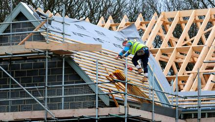 The country is seeing a rebound in home-construction activity. (Stock image)