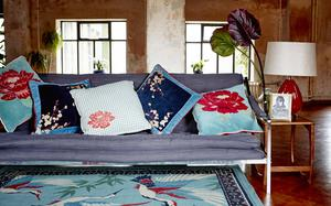 Summer textiles from Carolyn Donnelly Eclectic for Dunnes