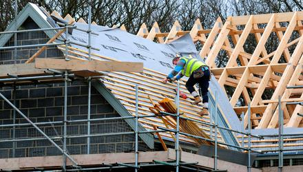 Almost 9,000 housing units were completed in the first half of the year