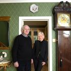Emily and Frank Coffey at home in Monkstown. Pic: Bryan Meade