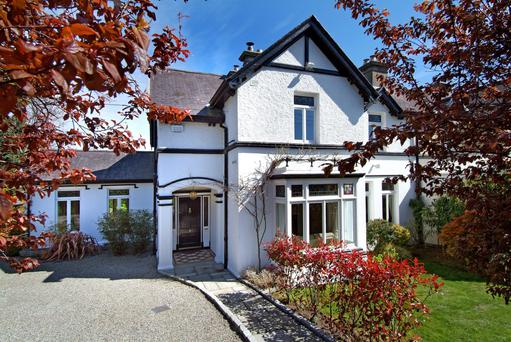 Linden, St Vincent Road, The Burnaby, Greystones, Co Wicklow. Sold for €1,290,000.