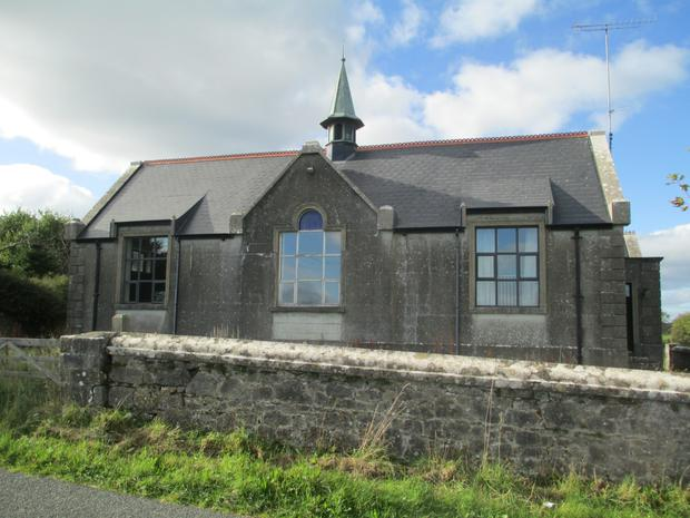 Mulderrig Schoolhouse, Ballinaheglish, Co Roscommon. Sold for €105,000.