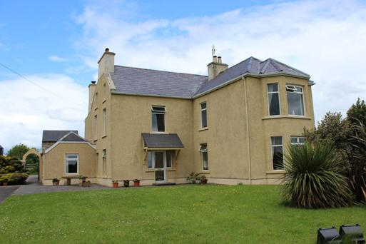 Killaghtee House, Dunkineely, Co Donegal. Sold for €302,500.