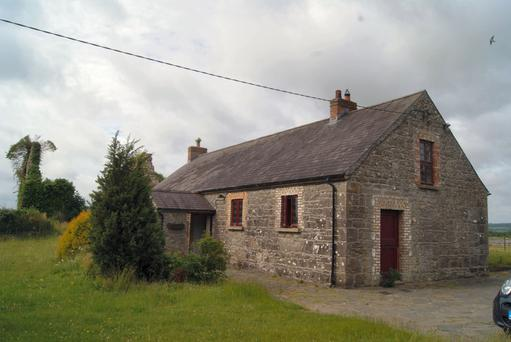 Old School House, Killabban, Ballylinan, was sold for €190,000 last October