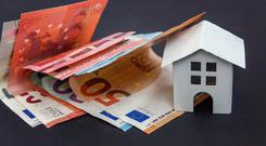 The value of State-backed mortgage arrears has fallen by €108m over the past three years, new figures show. (stock image)