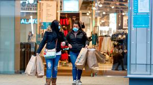 Figures show 438 new retail and wholesale businesses opened in the first three months of 2021. Photo: Darren Staples/Bloomberg
