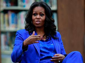 Former US First Lady Michelle Obama