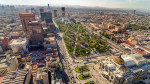 Mexico City is home to nine million of Mexico's 128 millionpeople