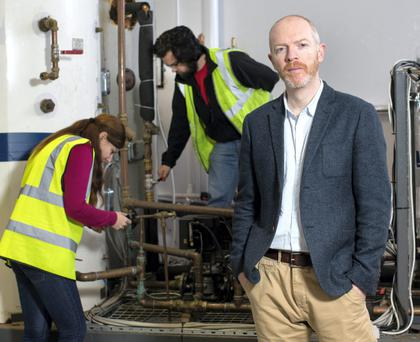 GAME-CHANGER: 'This will go all around the world,' says Alan Healy, CEO of the ground-breaking Energyn technology company. Photo: Fergal Phillips
