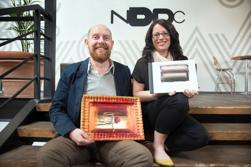 CULTURE ARK: 'Having a digital version is crucial for artists who want to sell and showcase their work abroad,' say Adrian Legg and Deirdre Ni Luasaigh. Photo: Tony Gavin