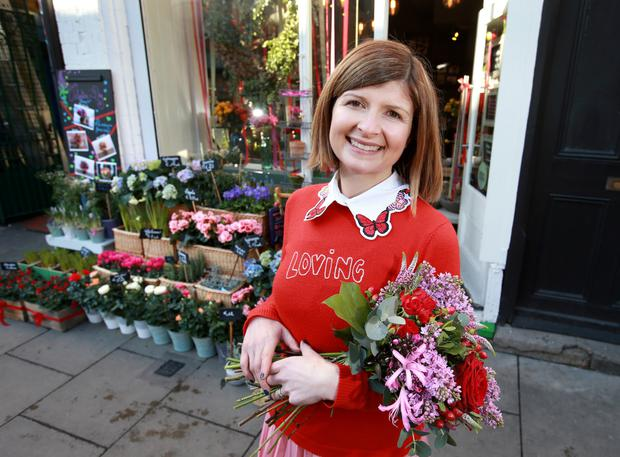 'I was brought up with flowers and always took a huge interest in flowers,' says Ruth Monahan of Appassionata Flowers. Photo: David Conachy