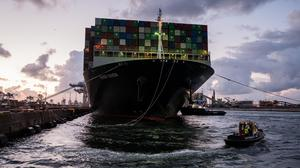 Supply chain problems have been worsened by a global shortage of shipping containers. Picture by Getty Images