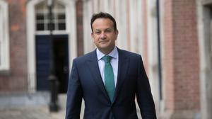 In April, Tánaiste Leo Varadkar was believed to be considering loosening the criteria for loans given out under the CGS to encourage more businesses to apply. Photo: Gareth Chaney
