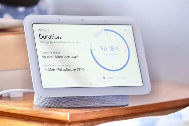 Google's Nest Hub (2nd Gen) tells you how you slept the night before. Photo: Adrian Weckler