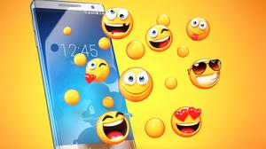 Experts say large swathes of emoji are now only used by middle-aged and older people. Stock image