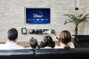 Plus and minus: Not all smart TVs support the Disney+ app