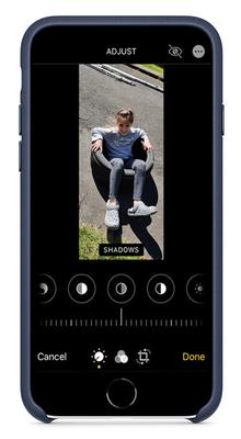 Enhanced: on an iPhone, the easiest way to edit pictures is in the Photos app
