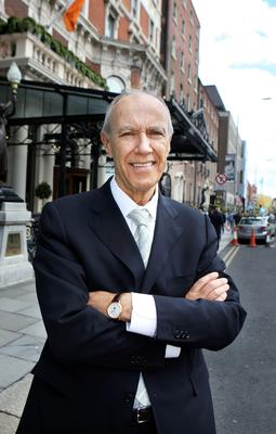Francis Gurry, pictured outside Dublin's Shelbourne Hotel, gives his views on the future of music sharing and the power wielded by the likes of hit musician Taylor Swift,