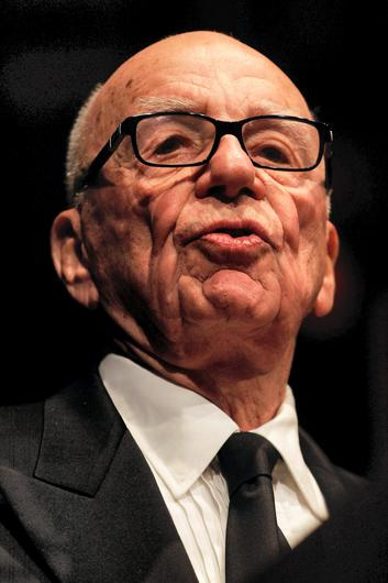 News Corp Chairman, Rupert Murdoch. Photo: Brendon Thorne/Bloomberg.