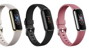 Staying power: The Fitbit Luxe needs to be recharged only about once a week