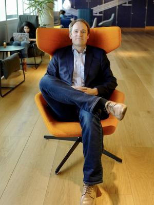 Facebook's Irish boss Gareth Lambe says he expects more Irish growth. Picture: Adrian Weckler