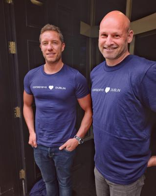 Left to right: Lory Kehoe, Ireland MD of ConsenSys and Joe Lubin, founder of ConsenSys and Ethereum