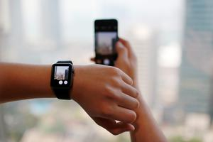 Global demand is growing for iPhones and Apple Watches