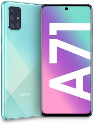 Brilliant for email: The Samsung A71