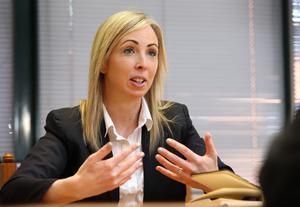 Irish Data Protection Commissioner Helen Dixon - the commission has a role to play in the investigation into the hacking of Yahoo accounts