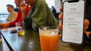 In Denmark there's near-universal consensus around the use of its digital Coronapas. Picture by Tom Little/AFP via Getty Images