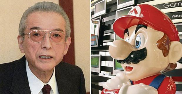 Innovator: Hiroshi Yamauchi, who ran Nintento for half a century and and oversaw the creation of many of the firm's icons, including Super Mario