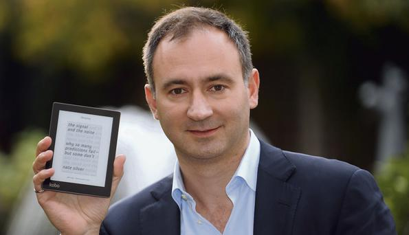 EBOOKER: Mike Serbinis, CEO of Kobo, the main competition to Amazon's Kindle ereader.