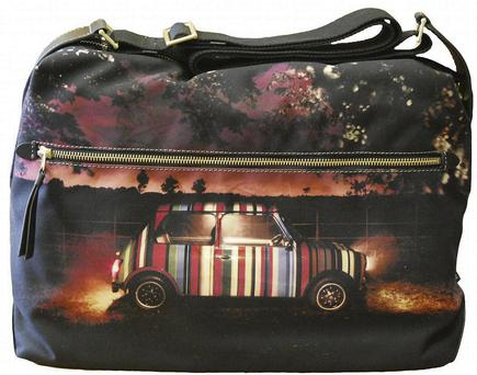 Paul Smith Mini Print flight bag
