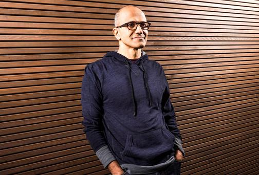 Satya Nadella has been named the next Microsoft CEO